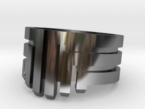 MEDUSA Original Design Ring [Multiple Sizes] in Fine Detail Polished Silver