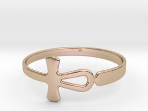 Anhk Bracelet 70 in 14k Rose Gold Plated Brass