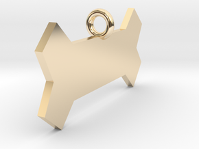 Basic Bone in 14k Gold Plated Brass