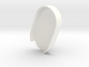 Mecha Glove - ScorpionBox - Lightbox bottom in White Processed Versatile Plastic
