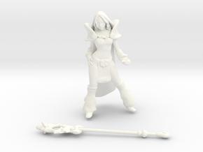 Crystal Maiden DOTA2 in White Processed Versatile Plastic