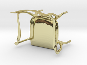 Fluffy Chair in 18K Gold Plated
