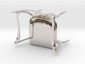Fluffy Chair in Platinum
