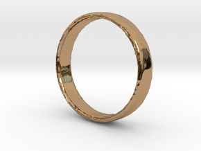 Simple Ring in Polished Brass