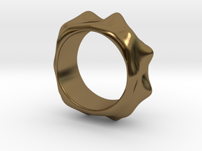 Ring 20mm in Polished Bronze