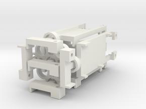 DNA200 Screen Holder V2 5-Pack in White Natural Versatile Plastic