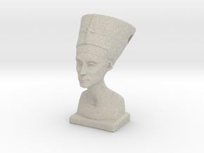 Nefertitti pendant in Natural Sandstone