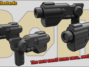 Rat Blastard: wee lil guns in White Natural Versatile Plastic