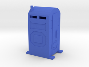 PortaPotty - 'O' 48:1 Scale in Blue Strong & Flexible Polished