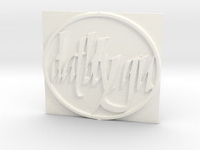 Datblygu in White Strong & Flexible Polished