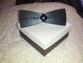 Bow ties are cool - spinner in Blue Strong & Flexible Polished