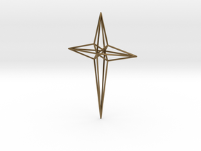 Star 7x5x1 D1 in Polished Bronze