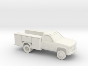 1/87 1994 GMC Service Truck in White Strong & Flexible