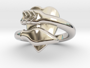 Cupido Ring 16 - Italian Size 16 in Platinum