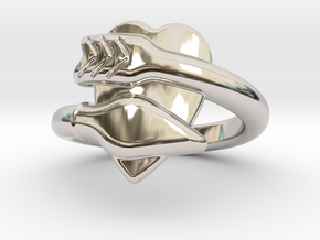 Cupido Ring 17 - Italian Size 17 in Platinum