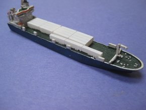 RoRo Trailers (1:1200) in Smooth Fine Detail Plastic