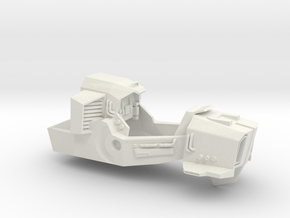 Cabal Interceptor Main Body in White Natural Versatile Plastic