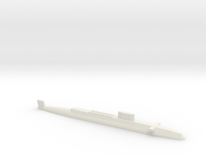 HMS Resolution SSBN, 1/2400 in White Natural Versatile Plastic