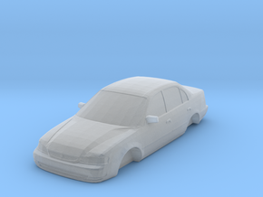 ho scale 1998-2000 toyota corolla in Smooth Fine Detail Plastic