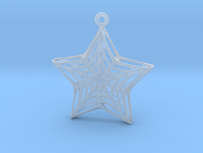 Star Voronoi in Smooth Fine Detail Plastic
