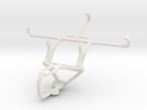 Controller mount for PS3 & HTC One (M8) in White Natural Versatile Plastic