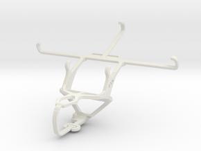 Controller mount for PS3 & LG G Flex in White Natural Versatile Plastic