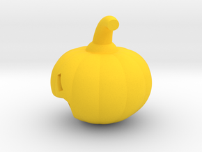 Jack o lantern in Yellow Processed Versatile Plastic