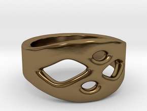 Frohr Design Ring Easy Style in Polished Bronze