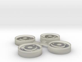 Deutz OME 117 Radscheiben IIf in Transparent Acrylic