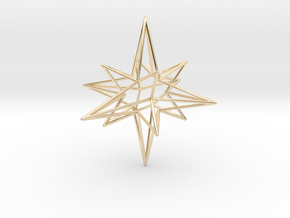 Star-Stag-14 in 14K Yellow Gold