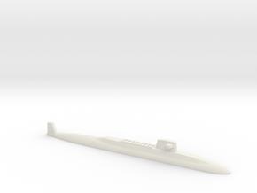 USS Lafayette SSBN, 1/2400 in White Natural Versatile Plastic