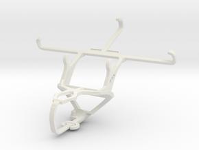 Controller mount for PS3 & Gigabyte GSmart Guru (W in White Natural Versatile Plastic