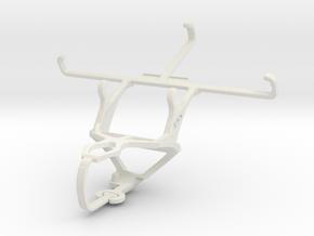 Controller mount for PS3 & Gigabyte GSmart Mika MX in White Natural Versatile Plastic