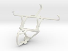 Controller mount for PS3 & Gigabyte GSmart Rey R3 in White Natural Versatile Plastic