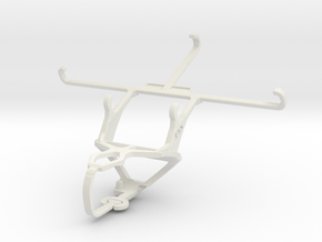 Controller mount for PS3 & HTC Desire 816 in White Natural Versatile Plastic