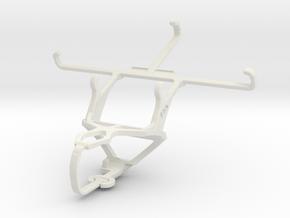 Controller mount for PS3 & Icemobile Prime 5.0 in White Natural Versatile Plastic