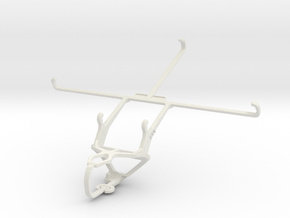 Controller mount for PS3 & Lenovo ideapad MIIX 300 in White Natural Versatile Plastic