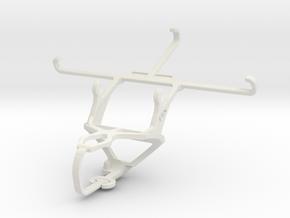 Controller mount for PS3 & Meizu MX5 in White Natural Versatile Plastic