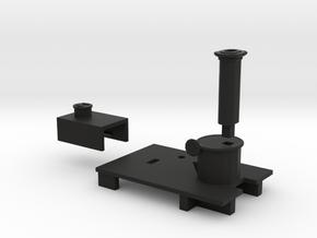 009 Sentinel - Parts 1 6 & 8 in Black Natural Versatile Plastic