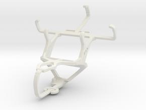 Controller mount for PS3 & Nokia Asha 230 in White Natural Versatile Plastic