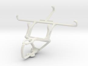 Controller mount for PS3 & Nokia Lumia 830 in White Natural Versatile Plastic