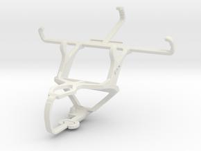 Controller mount for PS3 & NIU Tek 4D2 in White Natural Versatile Plastic