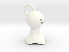 Teru Teru Bozu in White Strong & Flexible Polished