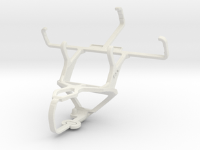 Controller mount for PS3 & Plum Gator Plus II in White Natural Versatile Plastic