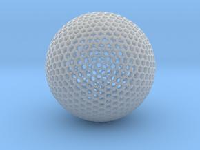 Goldberg Sphere  in Smooth Fine Detail Plastic