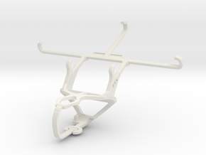 Controller mount for PS3 & Samsung Galaxy Note 5 in White Natural Versatile Plastic