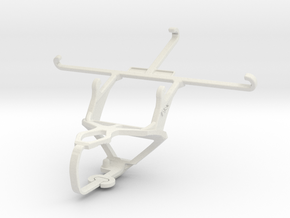 Controller mount for PS3 & Wiko Highway Pure 4G in White Natural Versatile Plastic