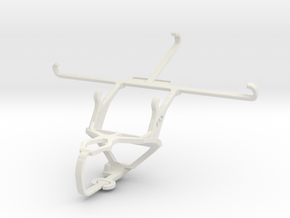 Controller mount for PS3 & ZTE Grand Memo II LTE in White Natural Versatile Plastic