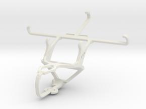 Controller mount for PS3 & ZTE Nubia Z9 mini in White Natural Versatile Plastic