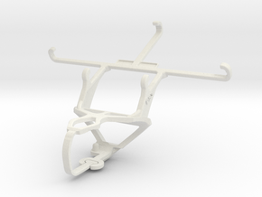 Controller mount for PS3 & ZTE Star 2 in White Natural Versatile Plastic